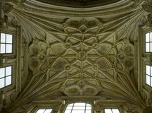 Dome and details in Mezquita, Cordoba. Royalty Free Stock Photos