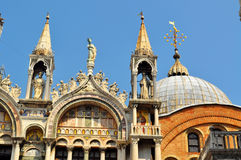 Dome of Doges Palace, Venice Stock Image
