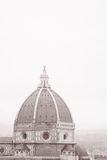Dome of Duomo Cathedral Church, Florence Stock Photography