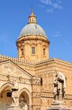 Dome of the Duomo - Palermo Royalty Free Stock Photo