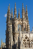 The Dome of The East Face of Burgos Cathedral. Spain Royalty Free Stock Photos