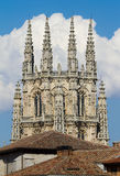 The Dome of The East Face of Burgos Cathedral. Spain Stock Photos
