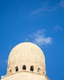 Dome of an Egyptian Mosque Royalty Free Stock Photo