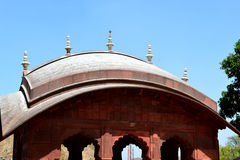 Dome at the entrance of amer fort Jaipur Rajasthan India Royalty Free Stock Photography