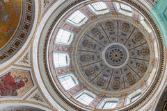 Dome of Esztergom Basilica, Hungary Stock Photography