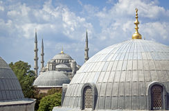 Dome everywhere in Istanbul center. Dome everywhere in Istanbul, Turkey Stock Photography