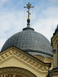 A dome of the Exaltation of the Cross Cathedral Stock Photos