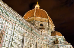 The Dome of the Florence Cathedral Stock Image