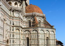 The dome of Florence Cathedral Stock Photo