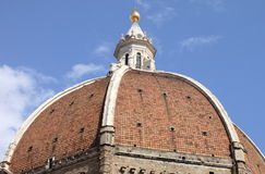Dome in Florence Cathedral Royalty Free Stock Image