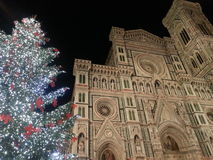 Dome of Florence in Christmas time Stock Images
