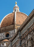 Dome of Florence details Royalty Free Stock Photography