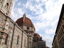 Dome of the Florence Duomo , Italy Royalty Free Stock Images