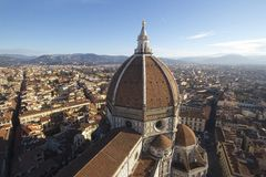Dome of Florence's cathedral Stock Photo