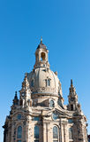 Dome of Frauenkirche. Dresden, Germany Royalty Free Stock Photos