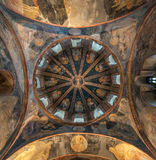 Dome view from Kariye Museum, Istanbul Royalty Free Stock Images