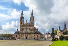 The Dome of Fulda stock photography