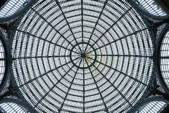 The Dome of Galleria Umberto. At Napoli Royalty Free Stock Image