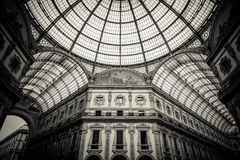 Dome of Galleria Vittorio Emanuele II, Milan Royalty Free Stock Image