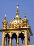 Dome of Golden Temple in India Royalty Free Stock Photography
