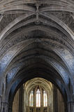 Dome of gothic cathedral Stock Photography
