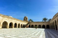 Dome of the Great Mosque Sousse, Tunisia royalty free stock image