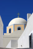 Dome of greek orthodox church Royalty Free Stock Image