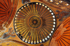 Dome of Hagia Sofia Stock Image