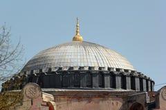 Dome of Hagia Sophia, Christian patriarchal basilica, Istanbul Stock Images