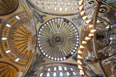 Dome of Hagia Sophia in Istanbul Stock Photos