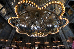 Dome of Hagia Sophia in Istanbul Stock Photography