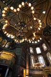 Dome of Hagia Sophia in Istanbul Royalty Free Stock Images