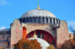 The dome of Hagia Sophia Royalty Free Stock Photo