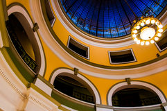 The dome of the Handley Library, in Winchester, Virginia. Royalty Free Stock Photos