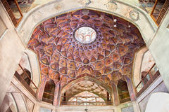 Dome of  Hasht Behesht Palace Royalty Free Stock Photography