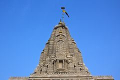 Dome of the Hindu temple Stock Images