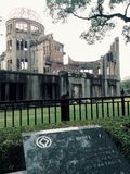 A Dome Hiroshima World War II memorial Stock Images