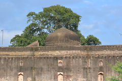 Dome of Historic Jal Mahal (Palace) Dhar stock photography
