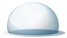 A dome without a holder. Illustration of a dome without a holder on a white background Royalty Free Stock Photo