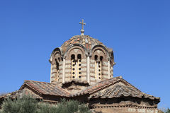 Dome of Holy Apostles church Stock Photos