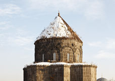 The Dome of the Holy Apostles Church - Kumbet Mosque, Kars-Turkey Stock Photos