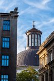 Dome of Holy Trinity Church in Warsaw. Dome of Holy Trinity Evangelical Church of the Augsburg Confession in Warsaw, Poland royalty free stock images