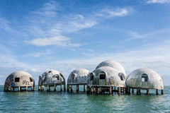 Dome Home of Cape Romano Florida Royalty Free Stock Images