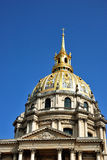 Dome of the Hotel des Invalides, Paris Royalty Free Stock Photo