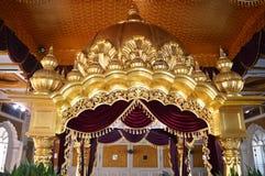 DOME INSIDE GURDWARA FOR SIKH RELIGION Stock Image