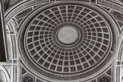 Dome inside the Pantheon Stock Photography