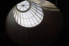 Dome from inside royalty free stock photo