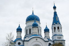 Dome of intercession Cathedral royalty free stock photo