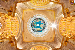 Dome  Interior a Catholic Church Stock Photo