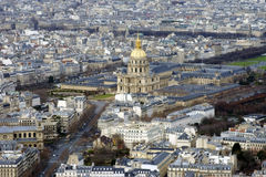 Dome of the Invalides Paris Stock Images